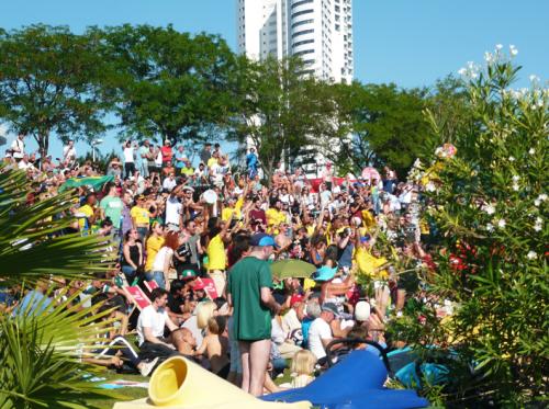 Public Viewing Copa Beach Fußball-WM 2018 - Teil 3