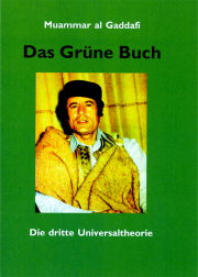 Das Grüne Buch - von Muammar al Gaddafi